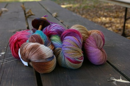 Autumn House Farms Sock Yarns