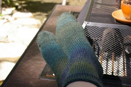 CSM Blue/Green Socks for RR