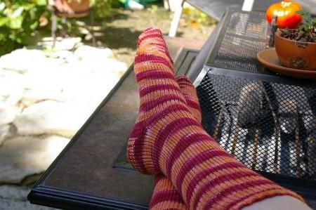 CSM Phoenix Fiberworks Socks