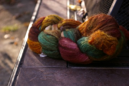 Cloverleaf Farms Merino/Silk