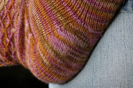Fox Grape Leyburn Socks - Heel