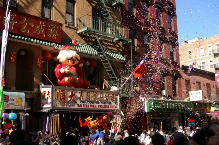 NYC Chinatown New Year Parade 1
