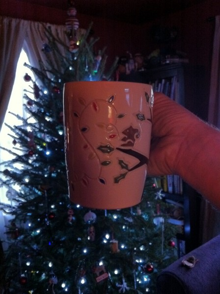 New Jenny the Potter Holiday Mug arrived yesterday!