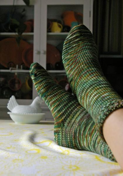 Rhinebeck Socks!