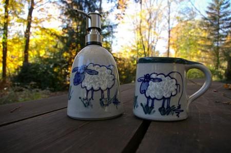 Soap and Mug