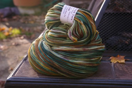 Steam Valley Fiber Sock Yarn