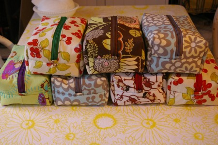 Stitched Box Bags