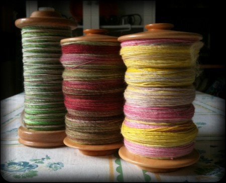Three days of spinning