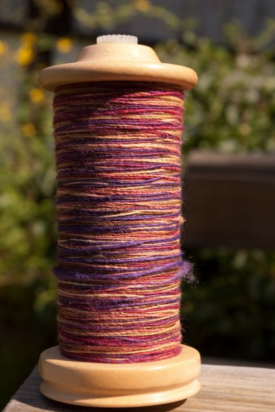 Yarn spun at WOOL