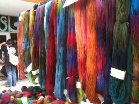 Yarn @ the Fibertwist