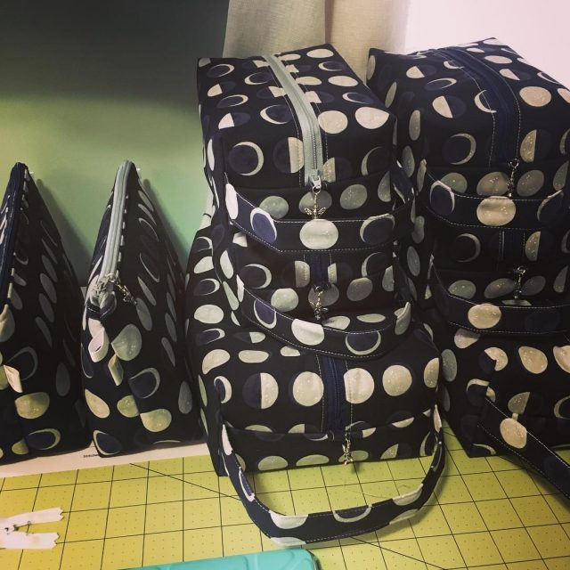 Sending a replenishment of exclusive moon bags to circlestitches today!hellip